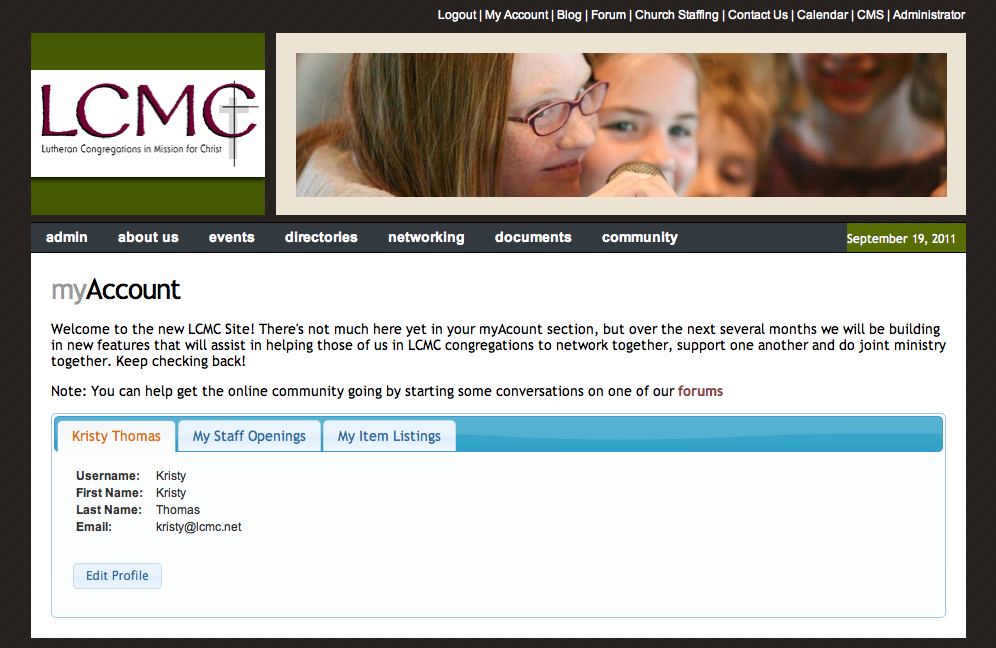mylcmc screen shot